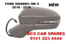FORD MONDEO MK 5  DOOR MIRROR  ELECTRIC  N/S  PASSENGER SIDE   POWER FOLD TYPE  2016  2017  2018